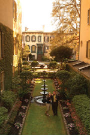 Retirees can explore hidden gardens in Savannah GA