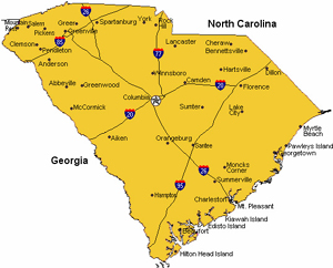 Retirement Cities & Affordable Small Towns - South Carolina